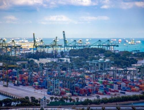Tắc nghẽn cảng Singapore đẩy thời gian chờ đợi, luân chuyển hàng hóa và giá cước tăng lên